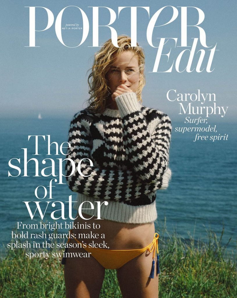 Carolyn Murphy covers Porter Edit June 15th, 2018 by Terence Connors
