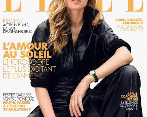 Doutzen Kroes covers Elle France June 8th, 2018 by Duy Vo