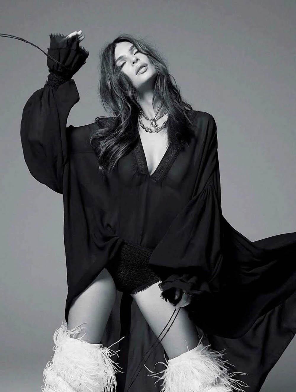 Emily Ratajkowski covers Elle Australia June 2018 by Kai Z Feng