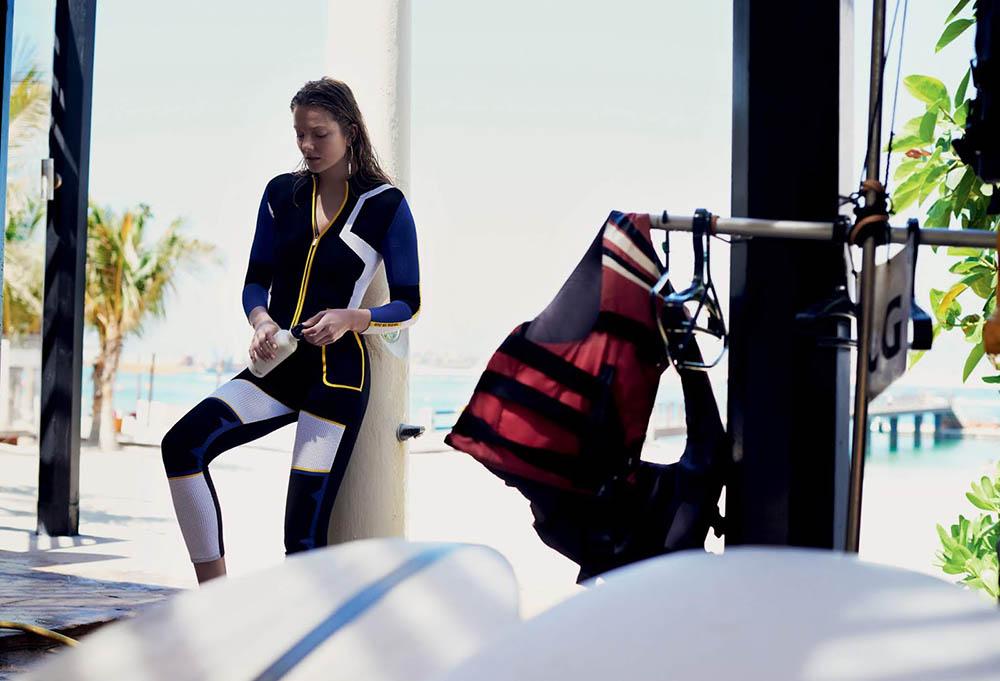 Eniko Mihalik covers Air France Madame June-July 2018 by Gianluca Fontana