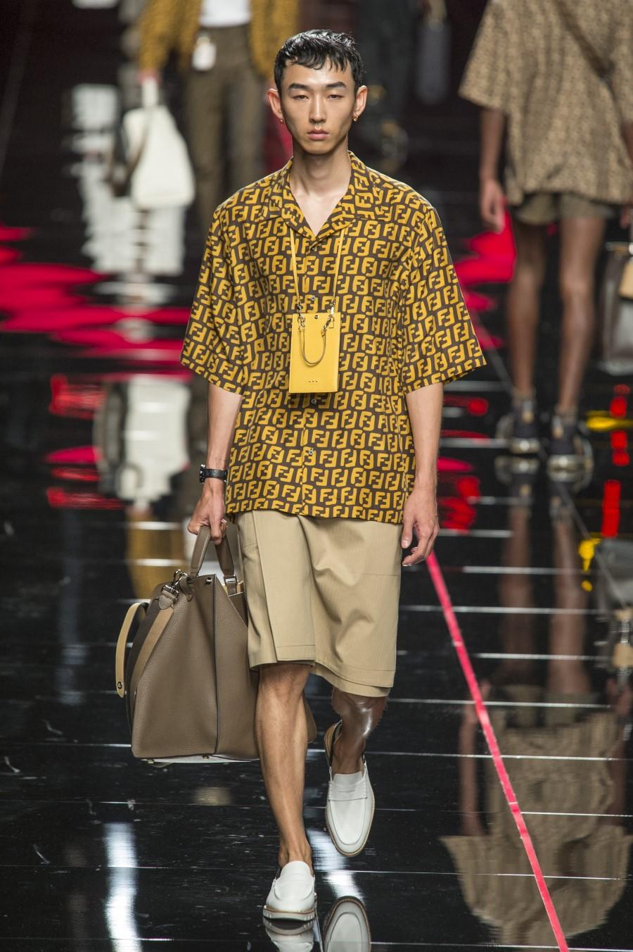 Fendi Men's Spring Summer 2019 - Milano Moda Uomo