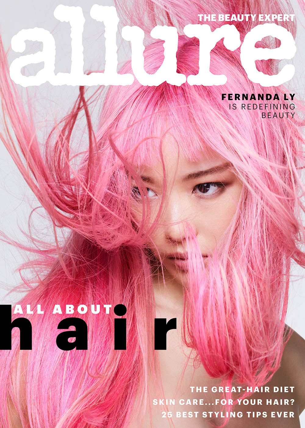 Fernanda Ly, Fei Fei Sun and Soo Joo Park cover Allure US June 2018 by Sølve Sundsbø