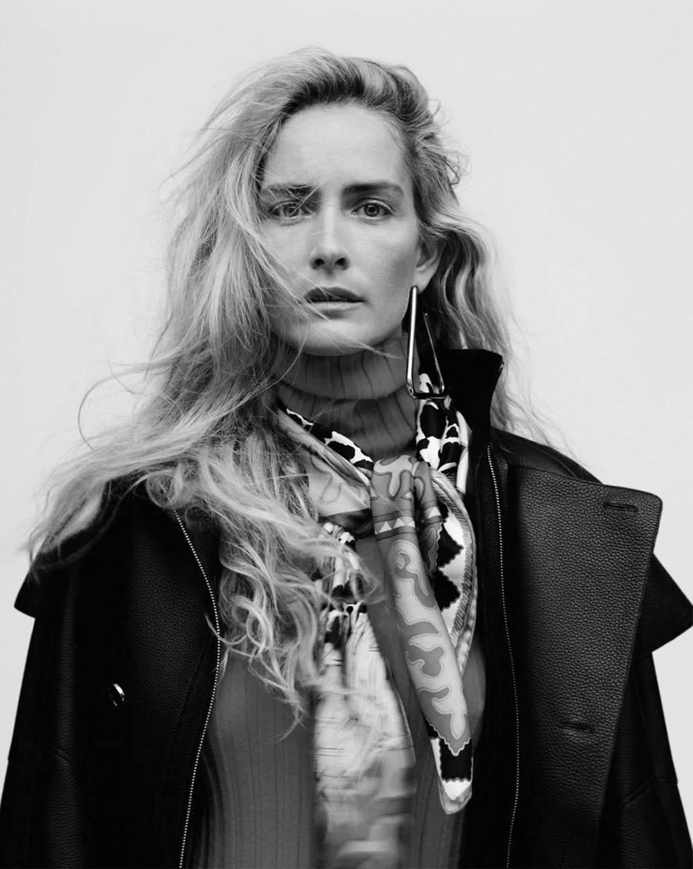 Georgina Grenville by Jan Welters for Elle UK July 2018
