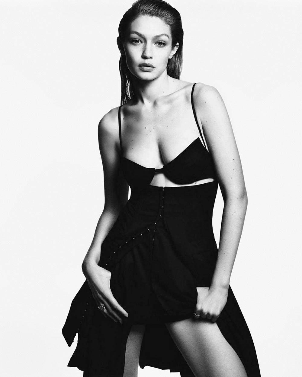 Gigi Hadid covers Vogue Japan June 2018 by Luigi & Iango