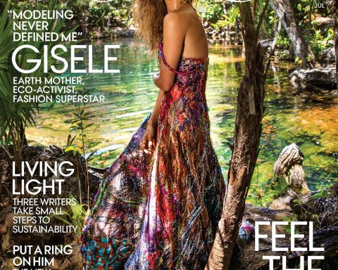 Gisele Bündchen covers Vogue US July 2018 by Inez and Vinoodh