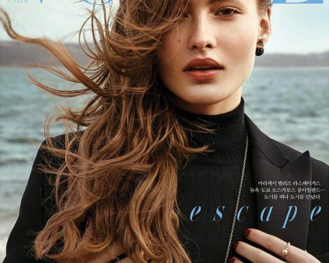 Grace Elizabeth covers Vogue Korea June 2018 by Hyea W. Kang
