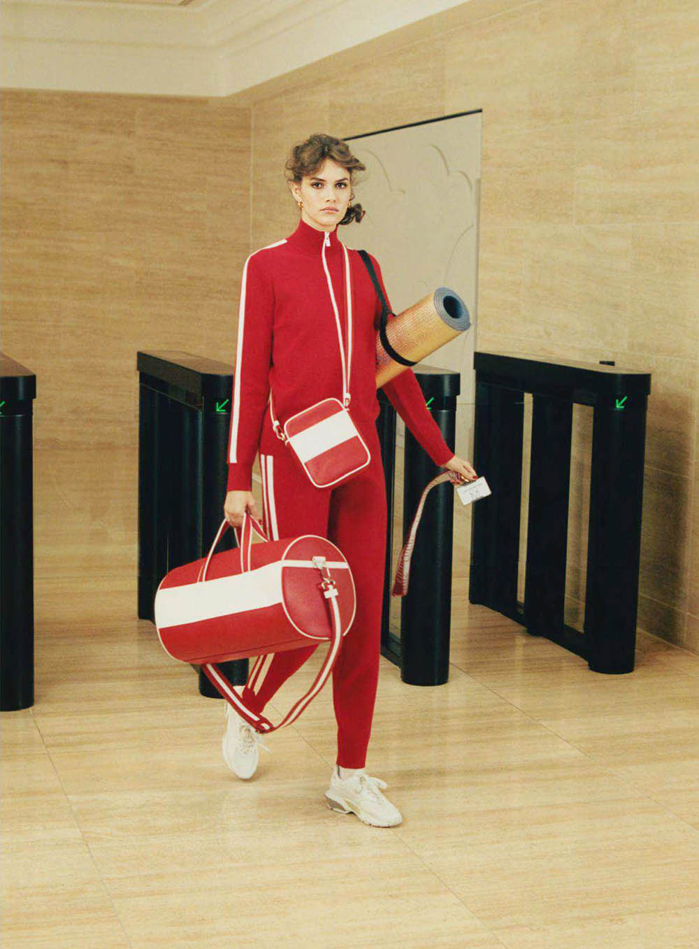 ''High Flyers'' by Venetia Scott for British Vogue June 2018