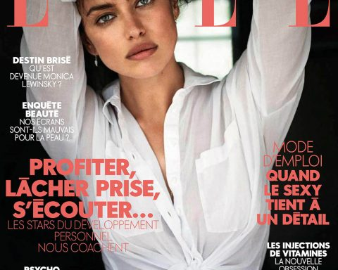Irina Shayk covers Elle France June 29th, 2018 by Jan Welters