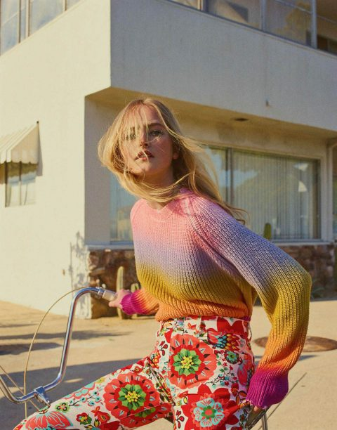 Jean Campbell by Gregory Harris for Vogue Paris June 2018