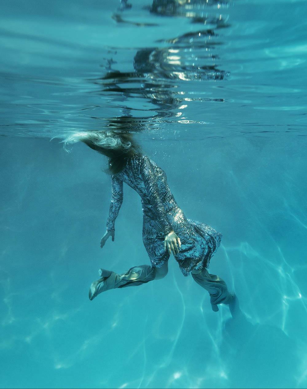 Jessica Stam covers Vogue Portugal June 2018 by René & Radka