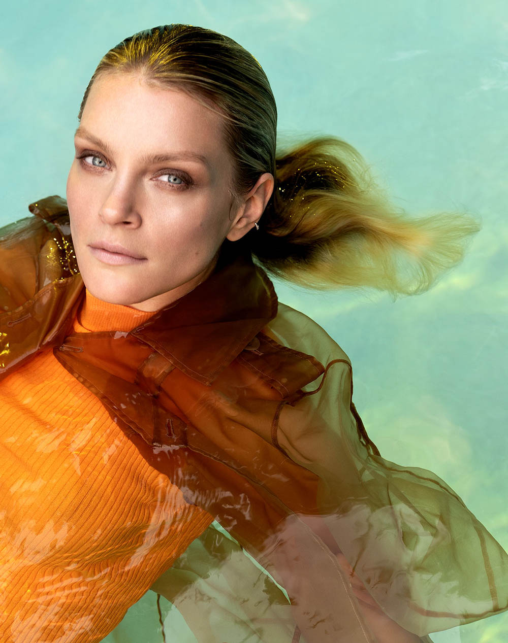 Jessica Stam covers Vogue Portugal June 2018 by René & Radka