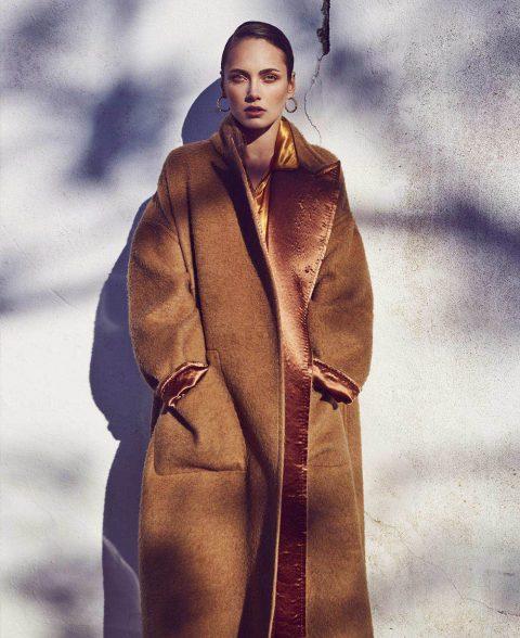 Karmen Pedaru by Marcin Tyszka for Harper's Bazaar US June 2018