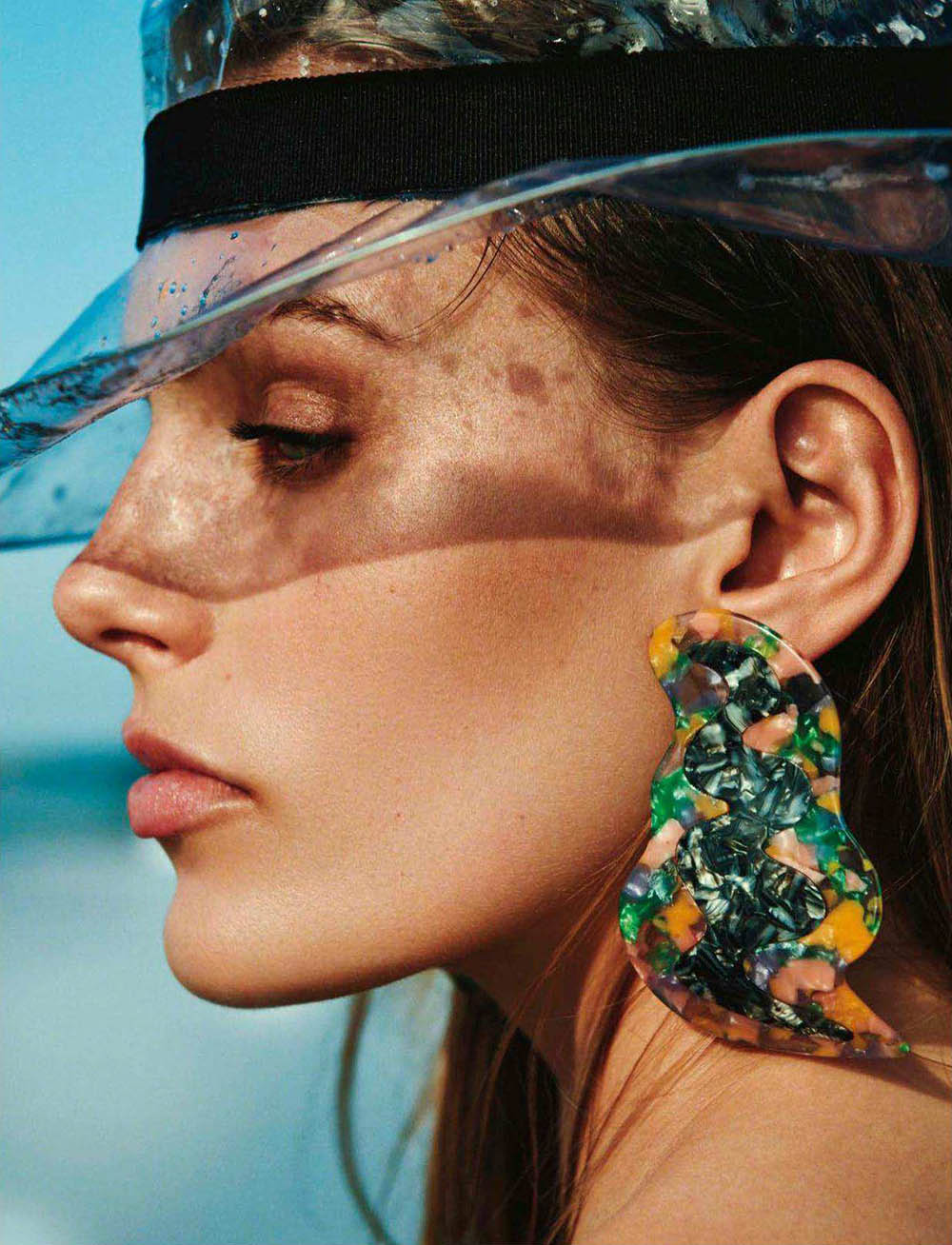 Madison Headrick by Bjorn Iooss for Vogue Spain June 2018
