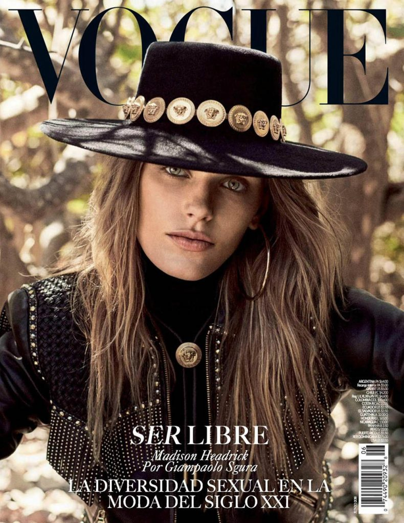 Madison Headrick covers Vogue Mexico June 2018 by Giampaolo Sgura