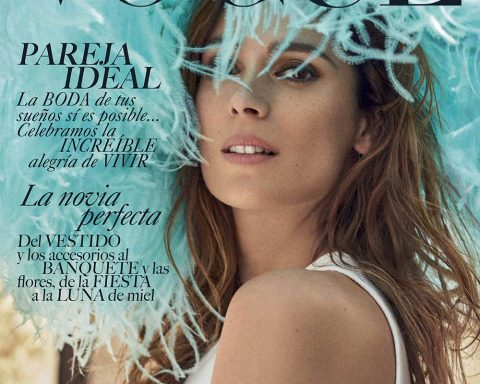 Mar Saura covers Vogue Novias Mexico Summer 2018 by Xavi Gordo