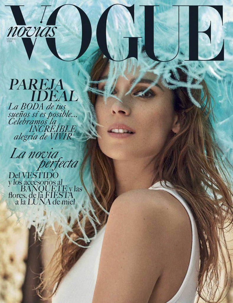 Mar Saura covers Vogue Novias Mexico Summer 2018 by Xavi Gordo