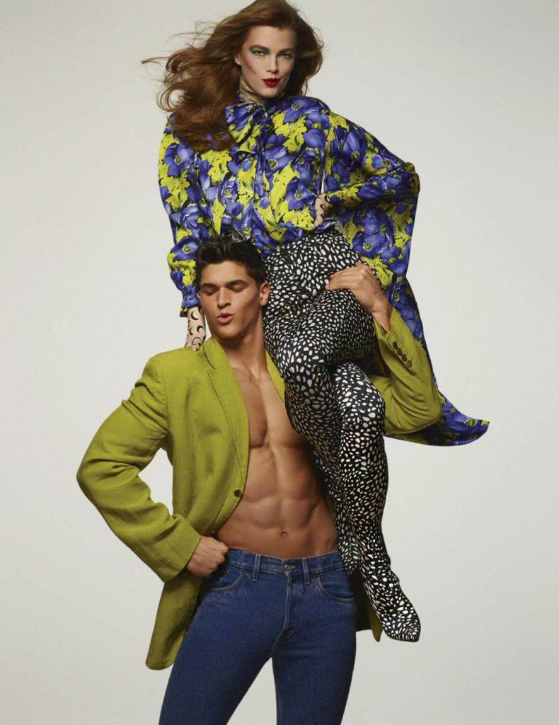 Mathilde Brandi and Trevor Signorino by Daniel Clavero for Vogue Mexico June 2018