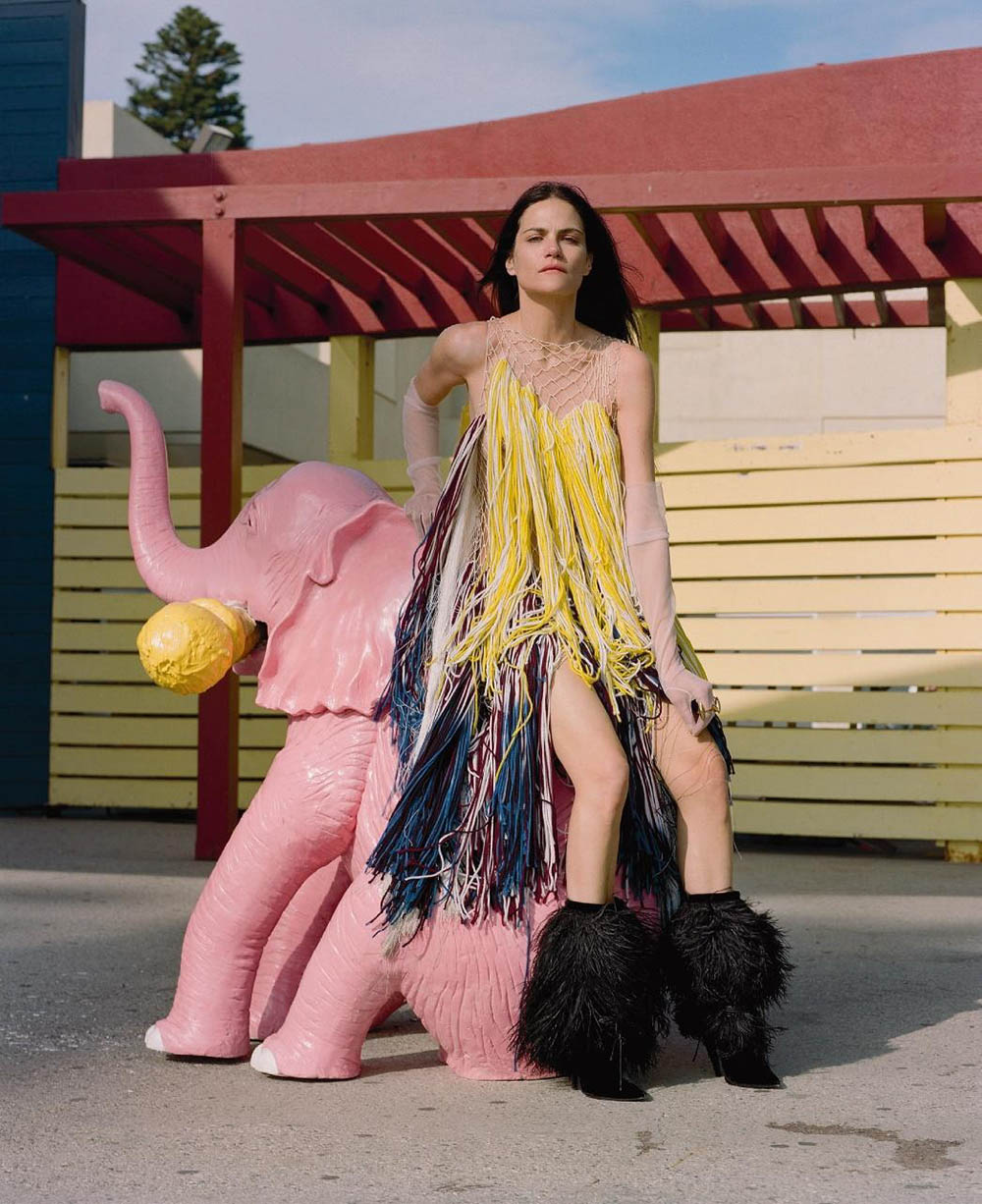 Missy Rayder by Alice Rosati for Numéro June 2018