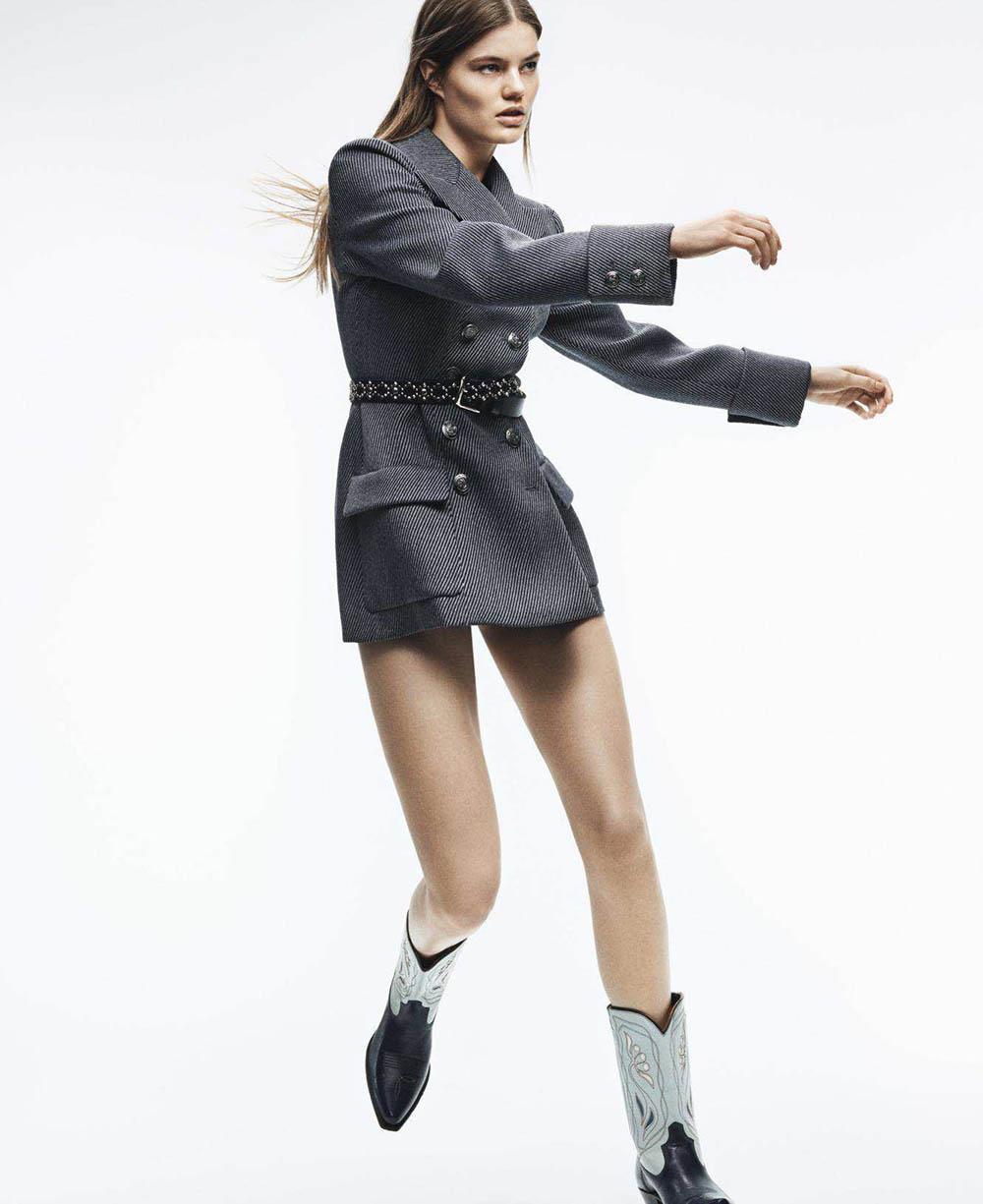 Myrthe Bolt by Tom Schirmacher for Elle US June 2018