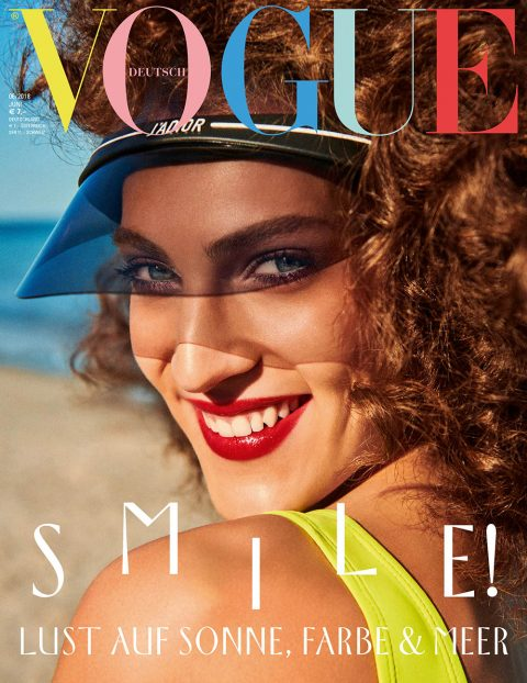Othilia Simon covers Vogue Germany June 2018 by Giampaolo Sgura