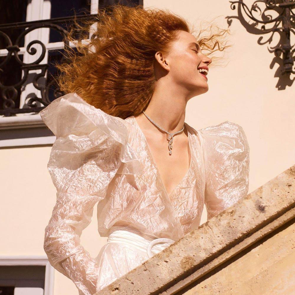 Rianne van Rompaey and Vittoria Ceretti by Karim Sadli for Vogue Paris June 2018