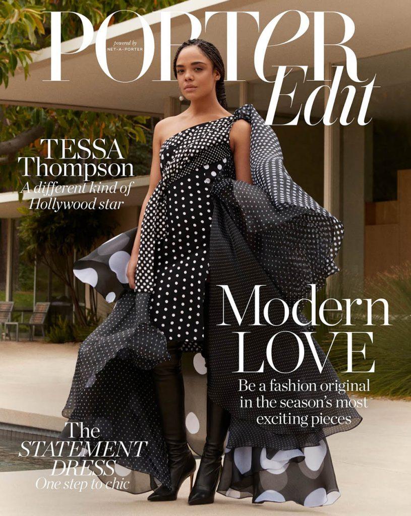 Tessa Thompson covers Porter Edit June 29th, 2018 by Nagi Sakai