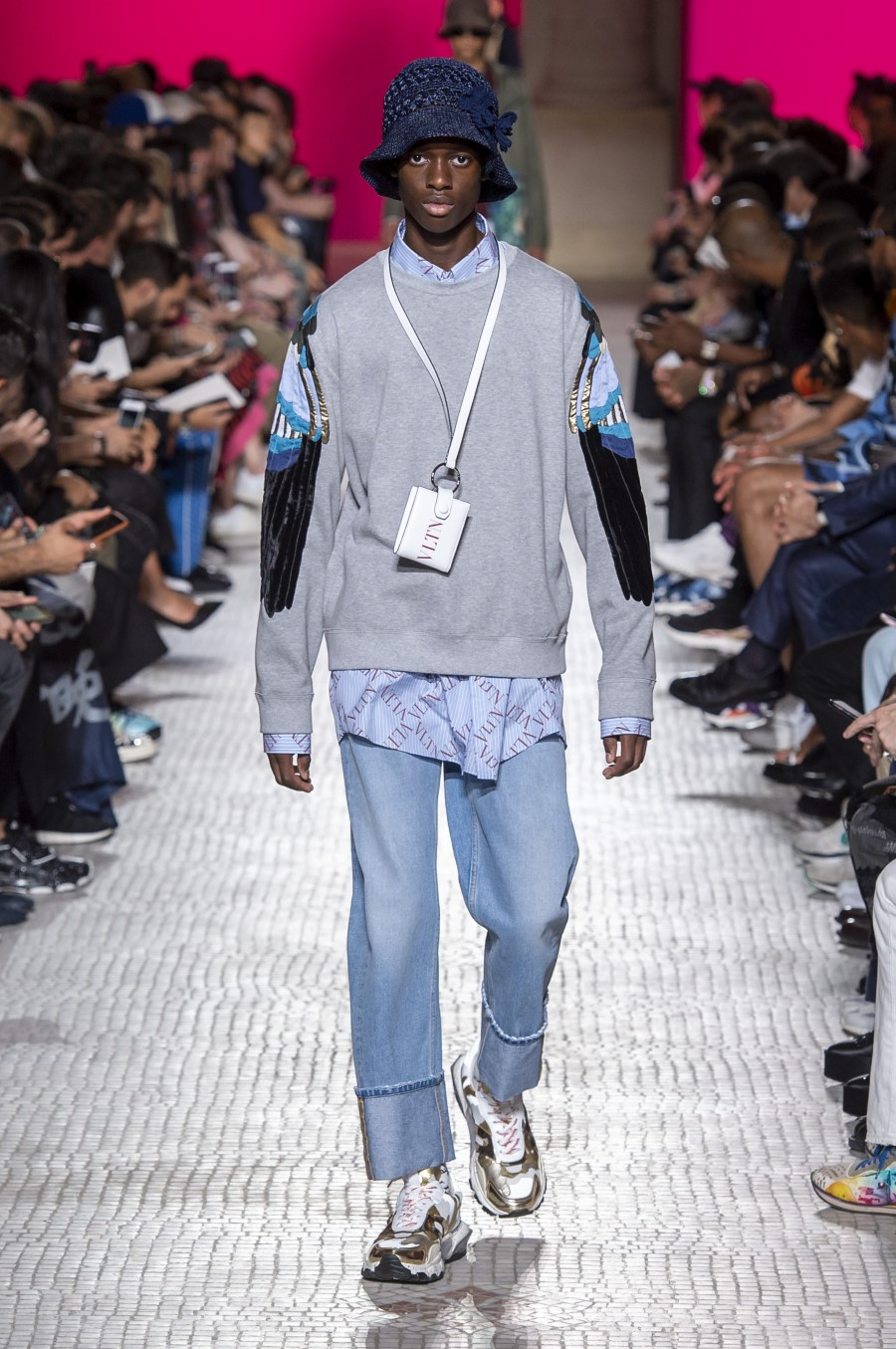 Valentino Men's Spring Summer 2019 - Paris Fashion Week