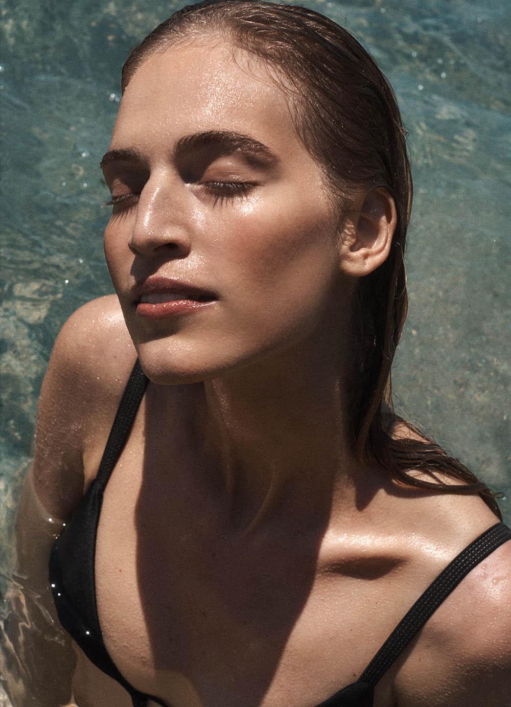 Vanessa Axente by Benny Horne for Porter Magazine Summer Escape 2018