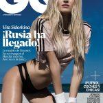 Vita Sidorkina covers GQ Mexico June 2018 by Greg Lotus