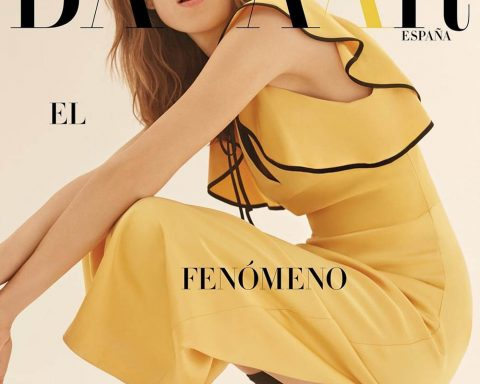 Alexa Chung covers Harper's Bazaar Spain July 2018 by Agata Pospieszynska