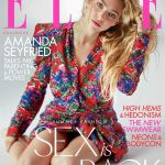 Amanda Seyfried covers Elle UK July 2018 by Sebastian Faena