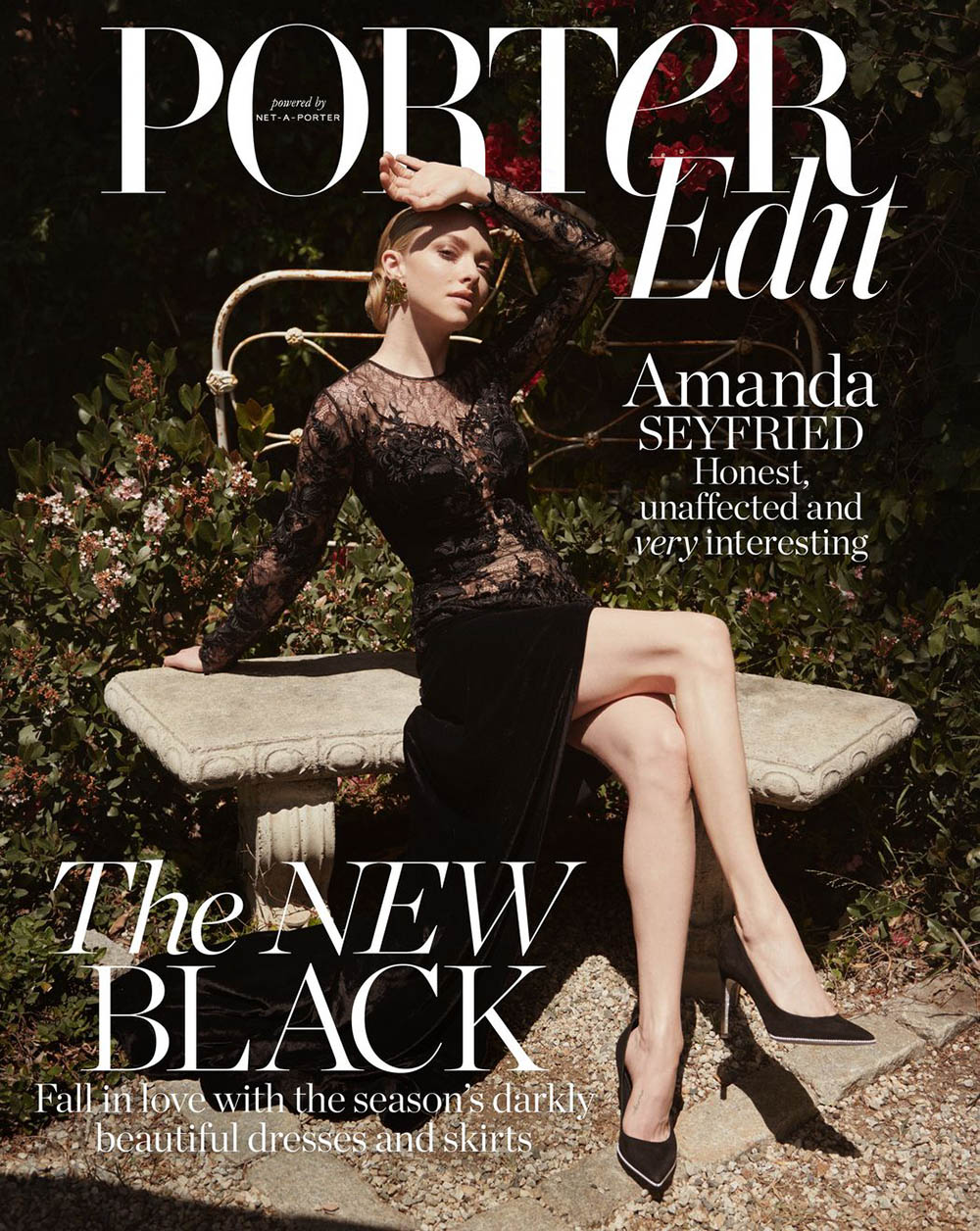 Amanda Seyfried covers Porter Edit July 13th, 2018 by Ward Ivan Rafik