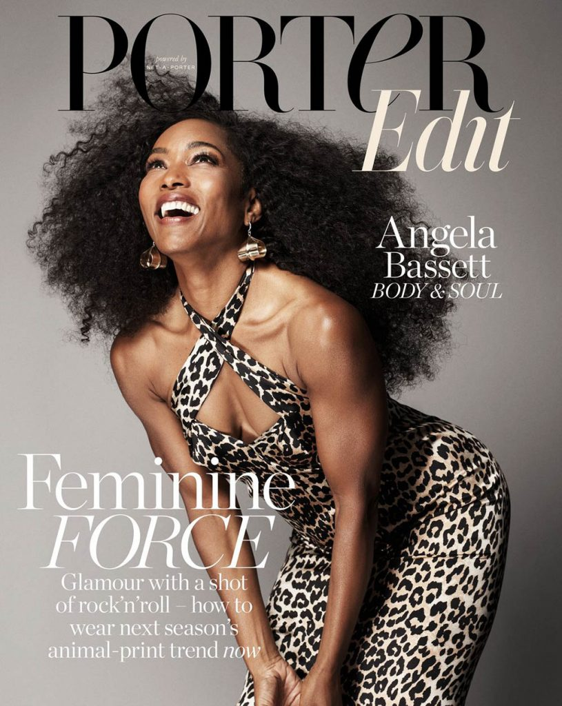 Angela Bassett covers Porter Edit July 20th, 2018 by Paola Kudacki