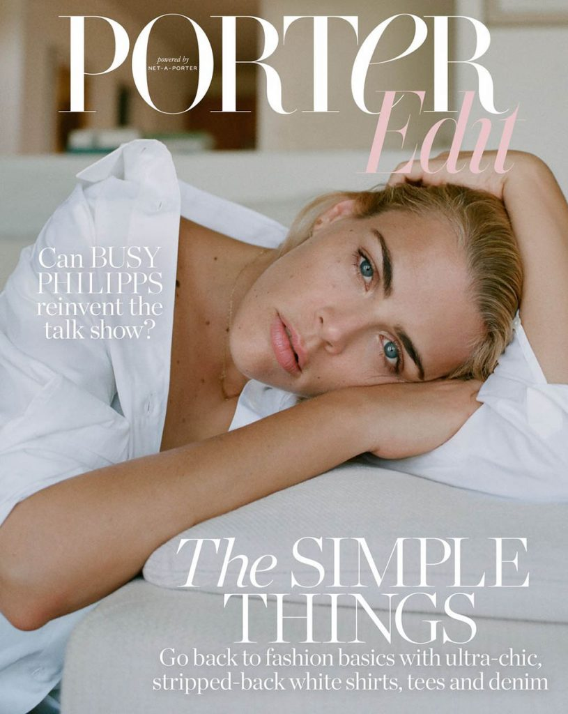 Busy Philipps covers Porter Edit July 27th, 2018 by Matthew Sprout