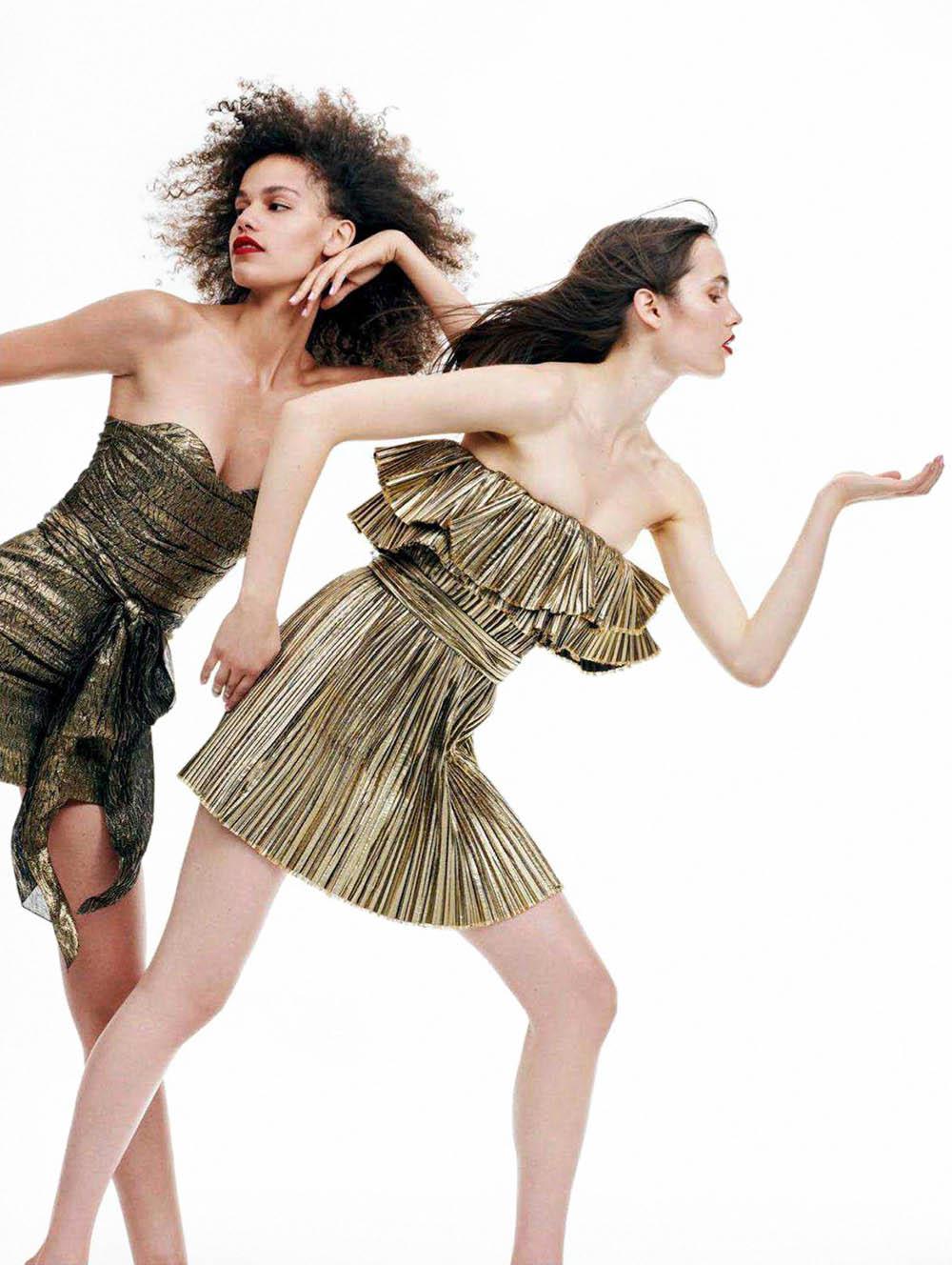 ''Días De Fiesta'' by Bjorn Iooss for Vogue Spain July 2018