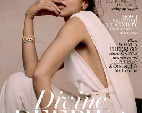 Deepika Padukone covers ES Magazine June 29th, 2018 by Buzz White