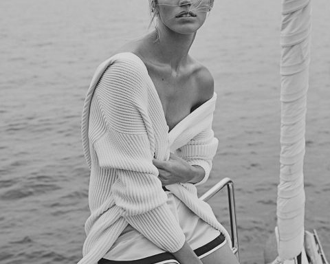 Devon Windsor by David Roemer for Vanity Fair Italia July 2018