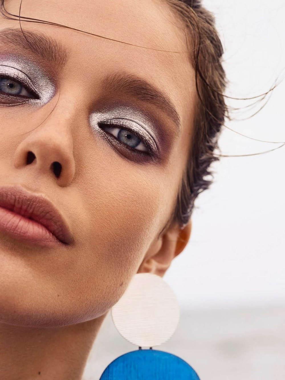 Emily DiDonato covers Harper's Bazaar Greece July 2018 by Yulia Gorbachenko