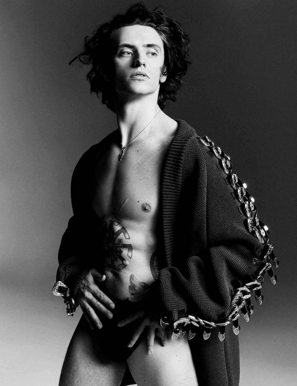 Fran Summers and Sergei Polunin by Luigi & Iango for Vogue Germany July 2018