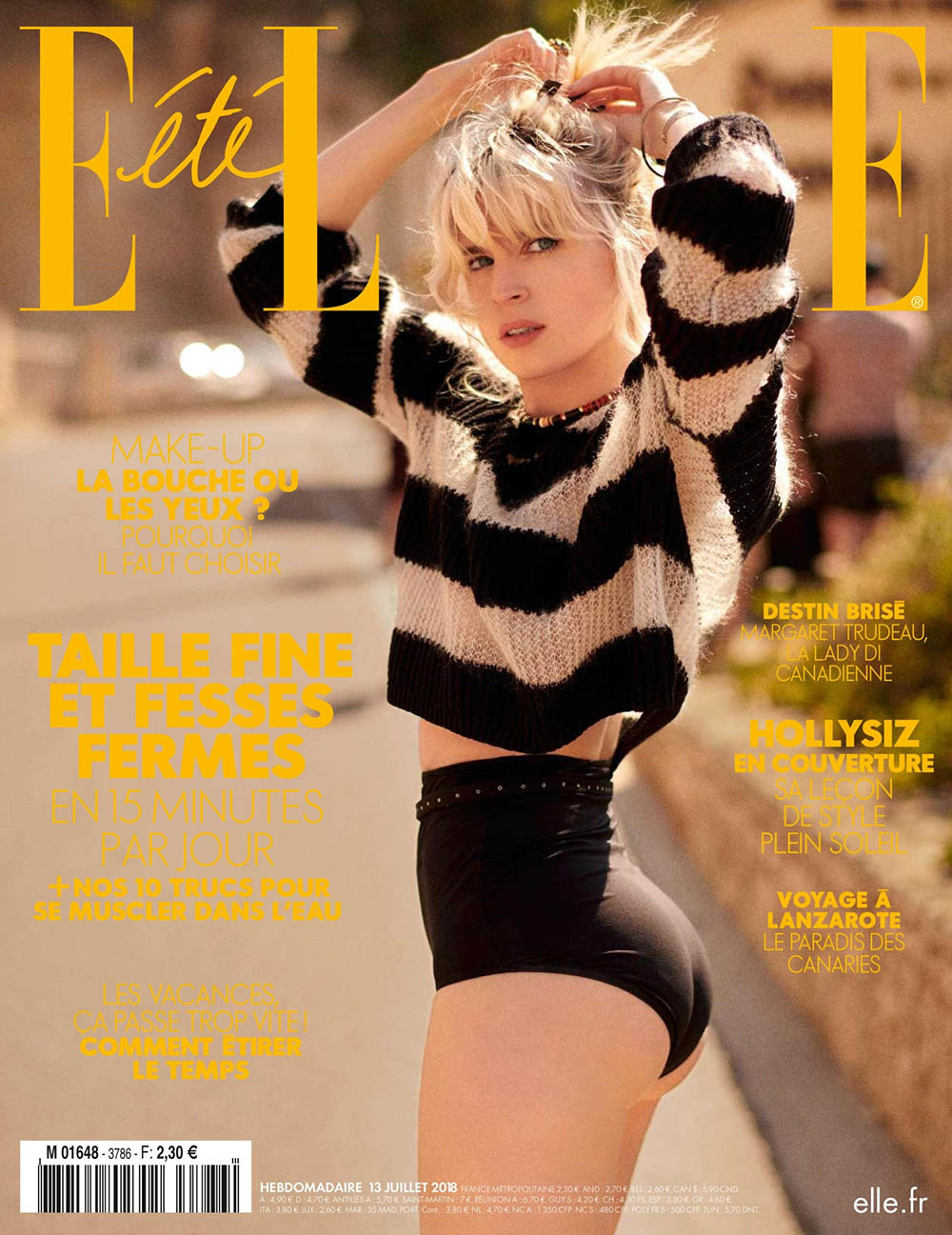 Hollysiz covers Elle France July 13th, 2018 by Sam Hendel