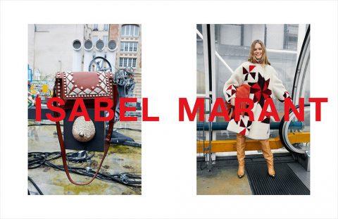 Isabel Marant Fall Winter 2018 Campaign