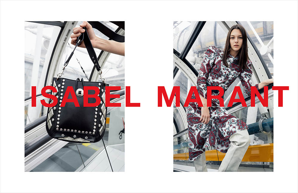Isabel Marant Fall Winter 2018 Campaign