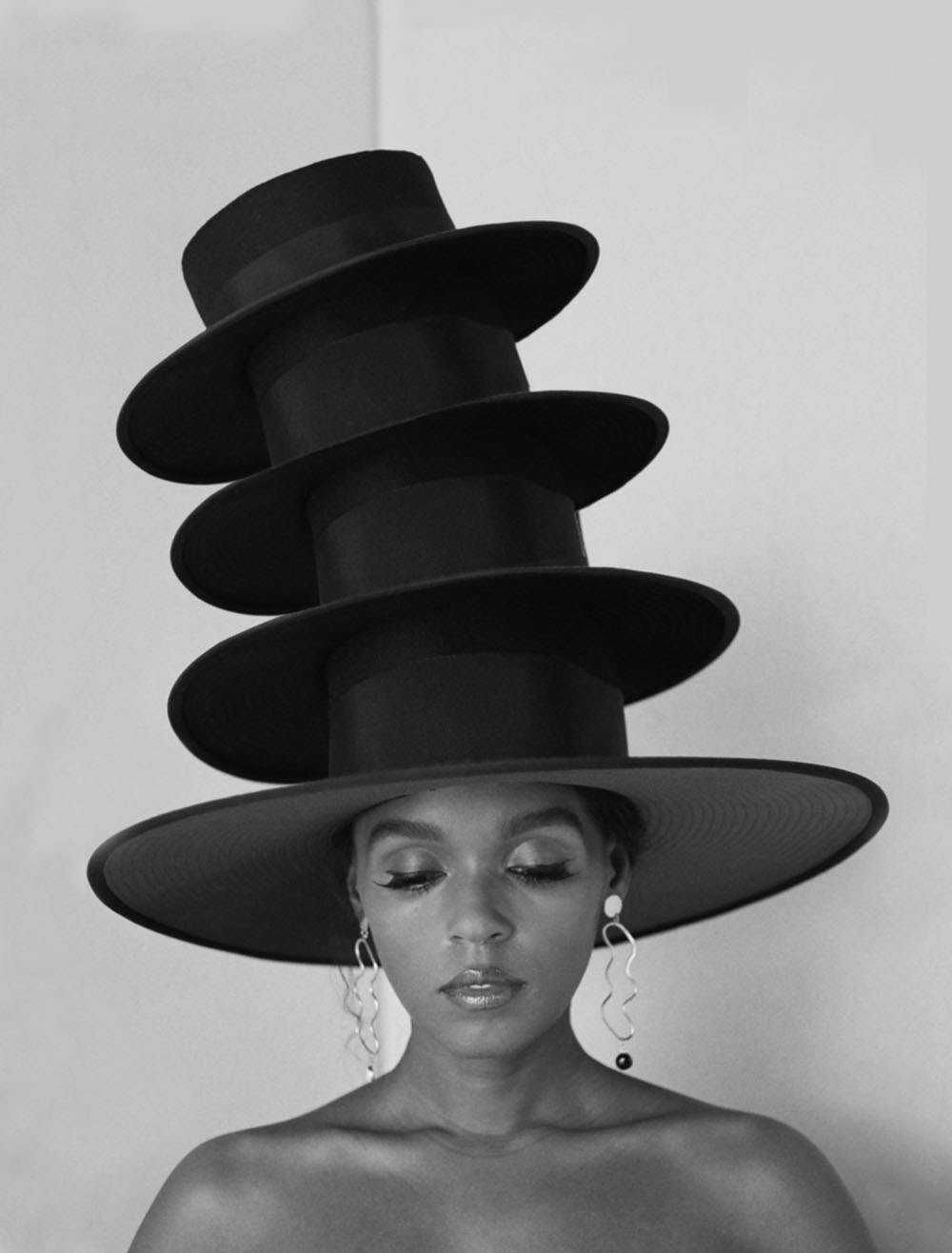 Janelle Monáe covers Allure US July 2018 by Camila Falquez