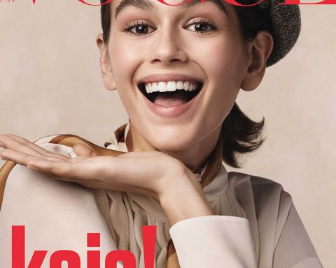 Kaia Gerber covers Vogue Italia July 2018 by Craig McDean
