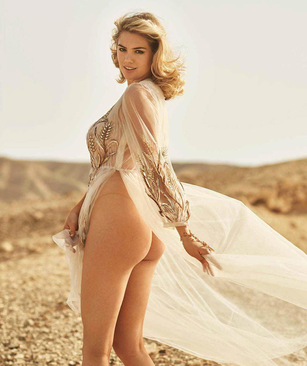 Kate Upton covers Maxim US July August 2018 by Gilles Bensimon