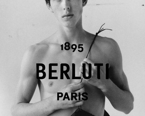 Kris Van Assche unveiled his first campaign for Berluti