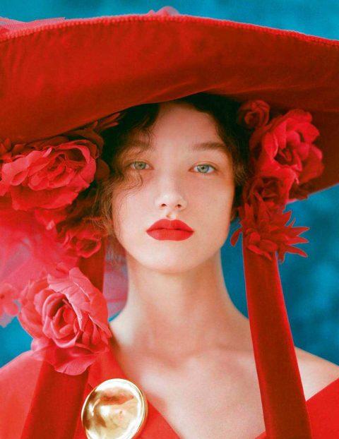 McKenna Hellam by Camila Falquez for Vogue Spain July 2018