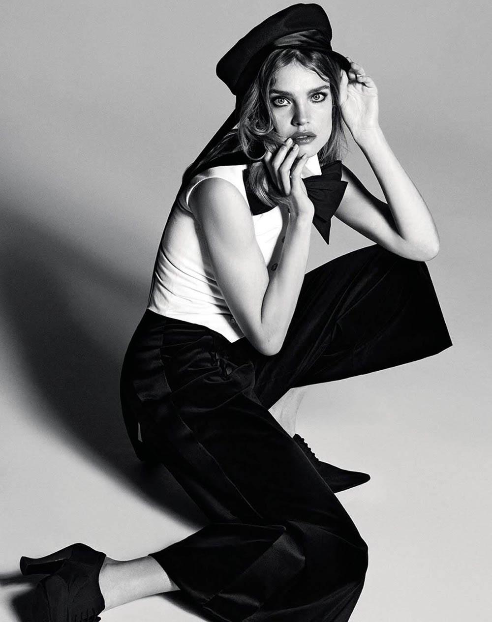 Natalia Vodianova by Luigi & Iango for Vogue Russia July 2018