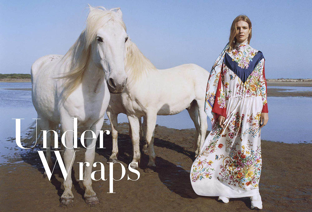 Natalia Vodianova by Zoe Ghertner for Vogue US July 2018