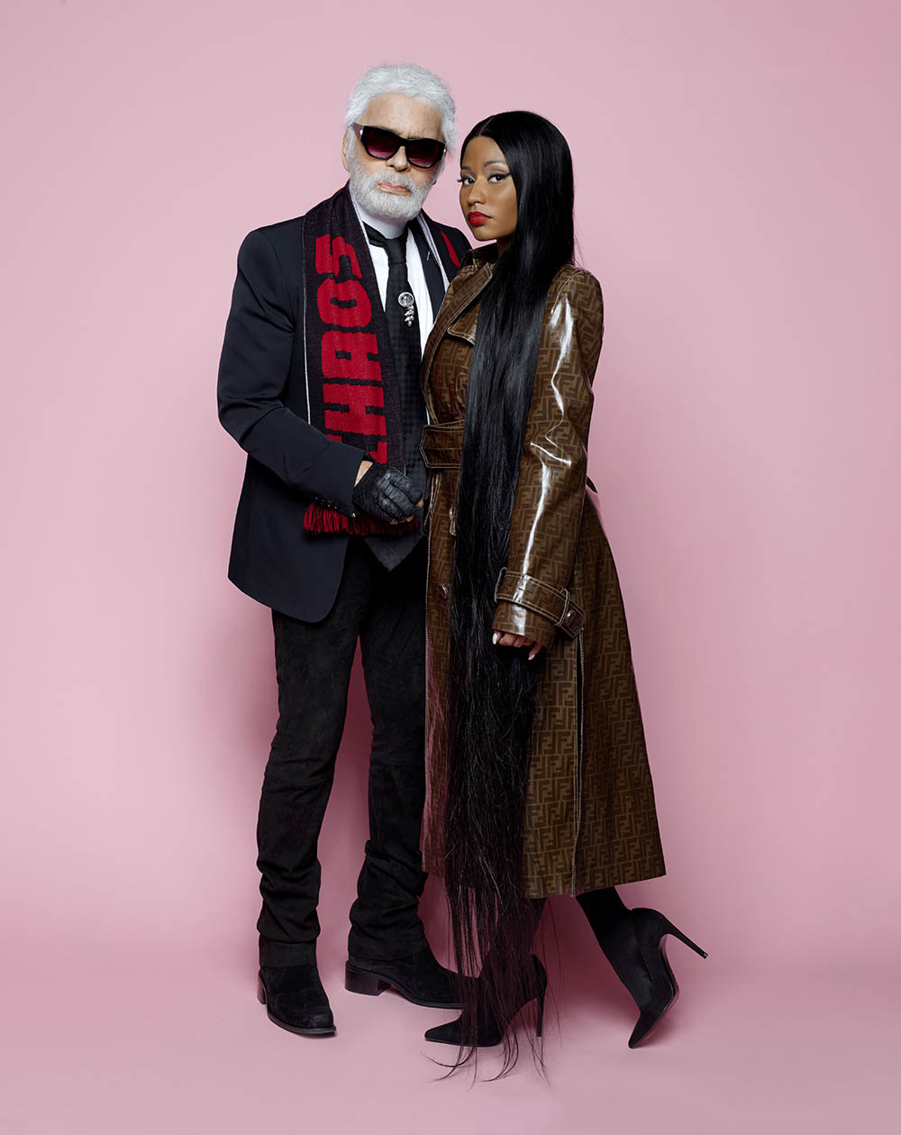 Nicki Minaj covers Elle US July 2018 by Karl Lagerfeld